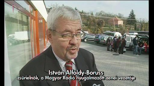 István Alföldy-Boruss, zsűrielnök; nyugalmazott zenei vezető, Magyar Rádió