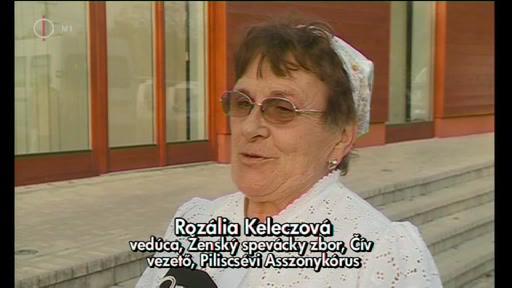 Rozália Keleczová, vezető, Piliscsévi Asszonykórus
