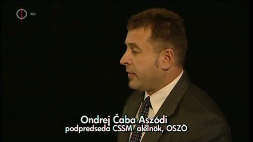 Ondrej Caba Aszódi, alelnök, OSZÖ