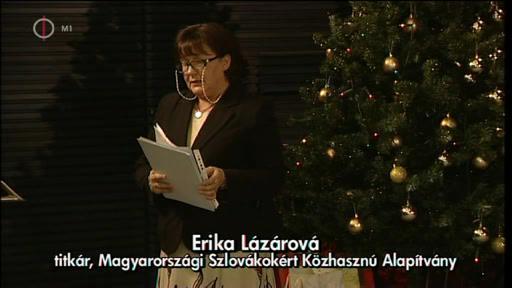 Erika Lázárová, titkár, Magyarországi Szlovákokért Közhasznú Alapítvány