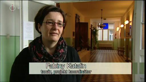 Fabiny Katalin, tanár, projektkoordinátor