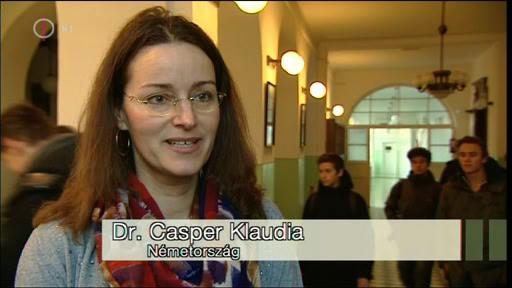 Dr. Casper Klaudia, Németország