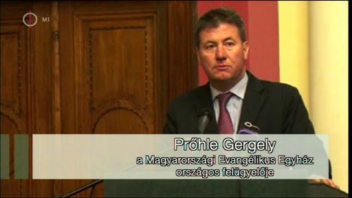 Prőhle Gergely, országos felügyelő, Magyarországi Evangélikus Egyház