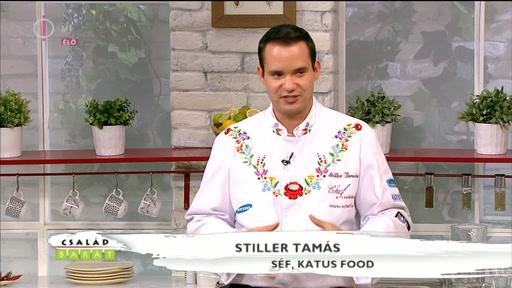 Stiller Tamás, séf, Katus Food