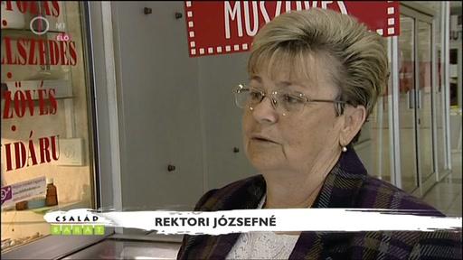 Rektori Józsefné