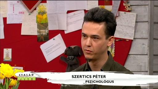 Szertics Péter, pszichológus