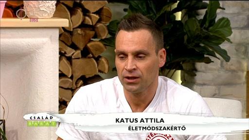 Katus Attila, életmódszakértő