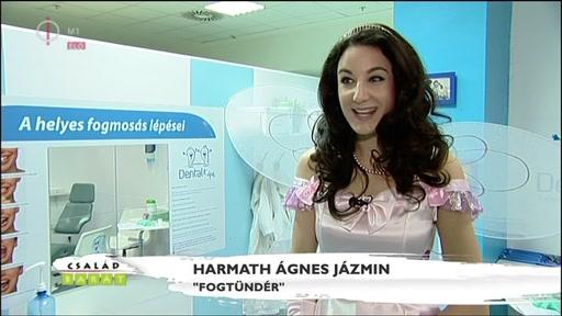 """Harmath Ágnes Jázmin, """"fogtündér"""""""