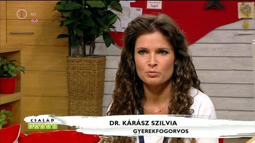 Dr. Kárász Szilvia, gyerekfogorvos