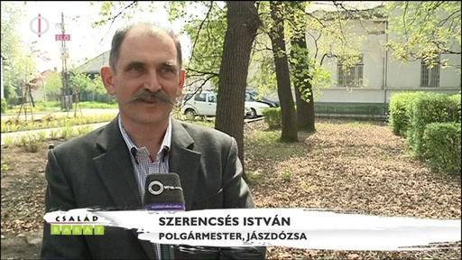Szerencsés István, polgármester, Jászdózsa