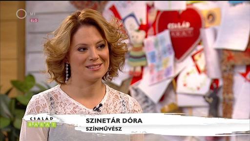 Szinetár Dóra, színművész