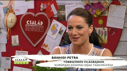 Bánhidi Petra, többszörös világbajnok, Európass szakmai dÍjas táncművész