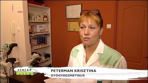 Peterman Krisztina, gyógykozmetikus