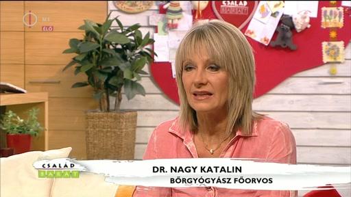 Dr. Nagy Katalin, bőrgyógyász főorvos