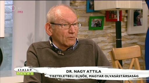 Dr. Nagy Attila, tiszteletbeli elnök, Magyar Olvasástársaság