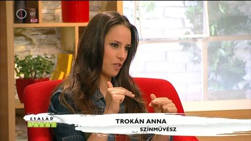 Trokán Anna, szÍnművész