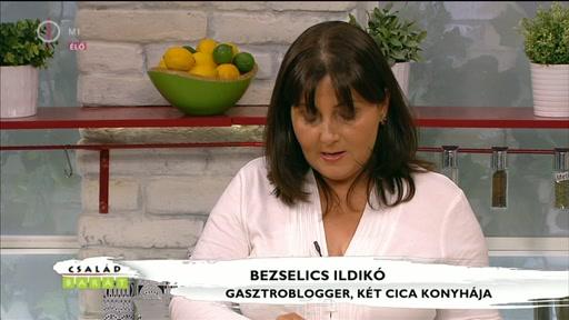 Bezselics Ildikó, gasztroblogger, Két cica konyhája