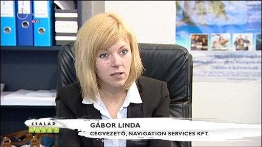 Gábor Linda, cégvezető, Navigation Services Kft.