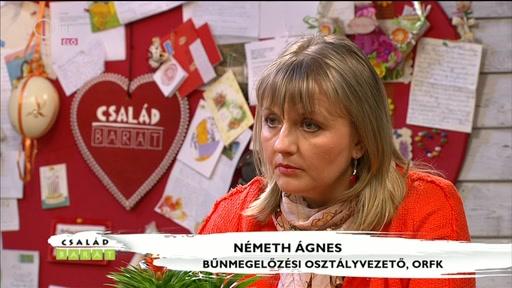 Németh Ágnes, bűnmegelőzési osztályvezető, ORFK