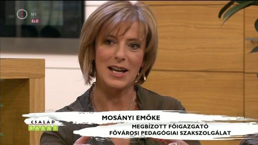 Mosányi Emőke, megbÍzott főigazgató, Fővárosi Pedagógiai Szakszolgálat