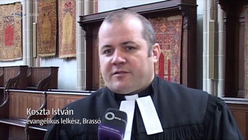 Koszta István, evangélikus lelkész, Brassó