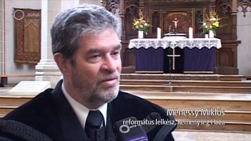 Ménessy Miklós, református lelkész, Reménység Háza