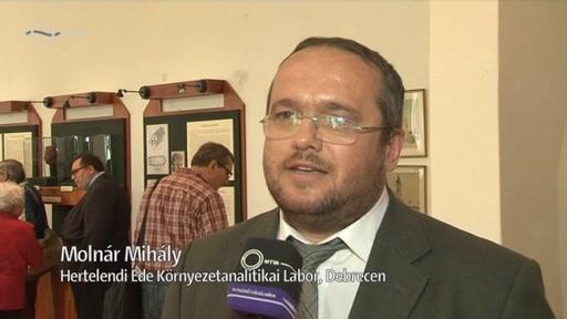 Molnár Mihály, Hertelendi Ede Környezetanalitikai Labor, Debrecen
