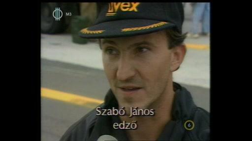 Szabó János, edző