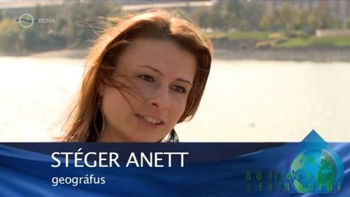 Stéger Anett, geográfus
