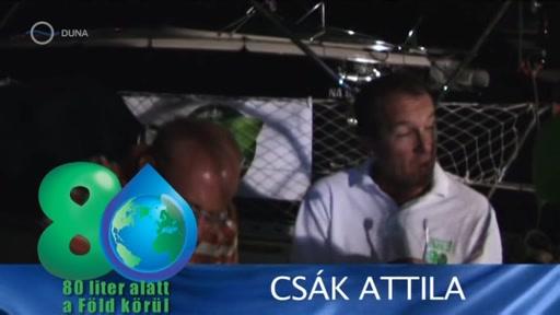 Csák Attila [jobbra]