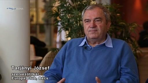 Tarjányi József, szervezőtitkár, Europa Club, Bécs