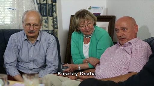 Pusztay Csaba [jobb szélen]