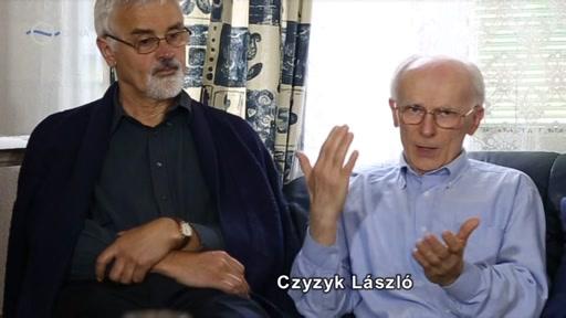 Czyzyk László [jobbra]