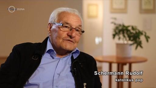 Schermann Rudolf, katolikus pap