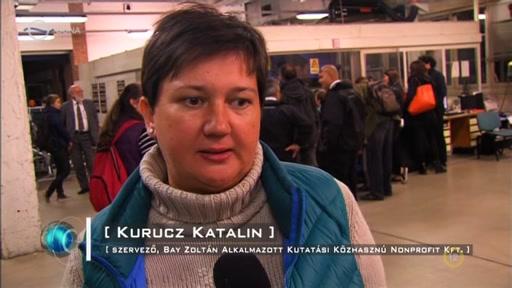 Kurucz Katalin, szervező, Bay Zoltán Alkalmazott Kutatási Közhasznú Nonprofit Kft.