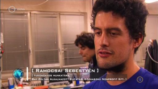 Ramocsai Sebestyén, tudományos munkatárs, Bay Zoltán Alkalmazott Kutatási Közhasznú Nonprofit Kft.