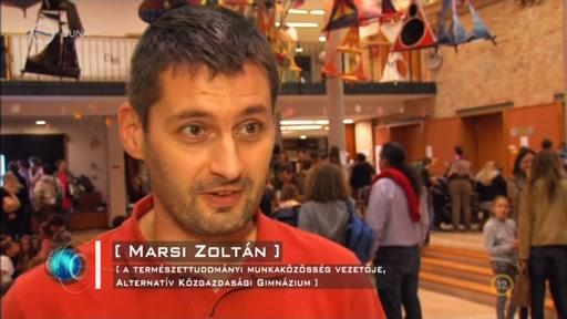 Marsi Zoltán, A természettudományi Munkaközösség vezetője, Alternatív Közgazdasági Gimnázium