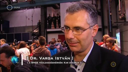 Dr. Varga István, dékán, BMGE Közlekedésmérnöki Kar