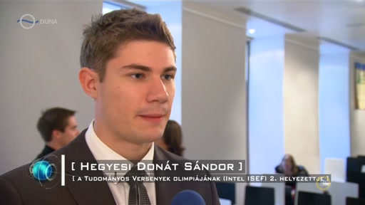 Hegyesi Donát Sándor, A Tudományos Versenyek Olimpiájának (Intel ISEF) 2. helyezettje