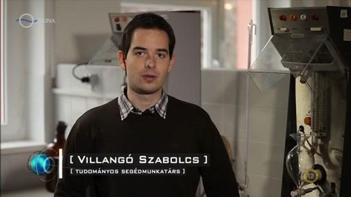 Villangó Szabolcs, tudományos segédmunkatárs
