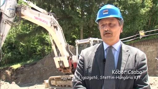 Kóbor Csaba, ügyvezető igazgató, Stettin-Hungária Kft.