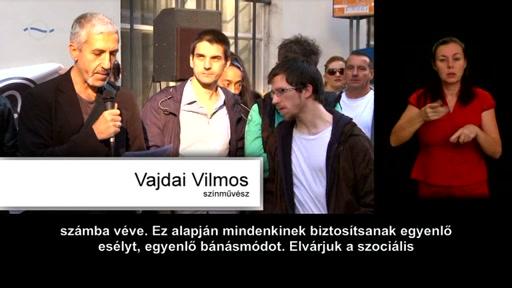 Vajdai Vilmos, színművész [balra]