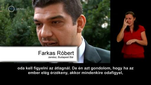Farkas Róbert, zenész, Budapest Bár