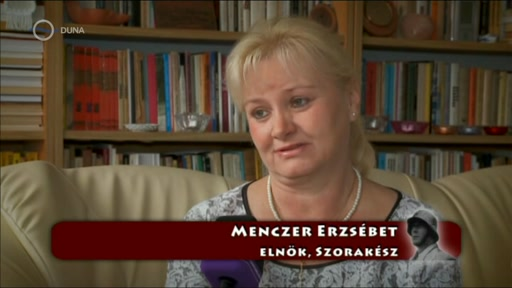 Menczer Erzsébet, elnök, Szorakész