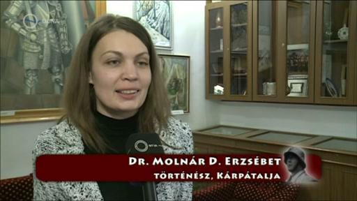 Dr. Molnár D. Erzsébet, történész, Kárpátalja
