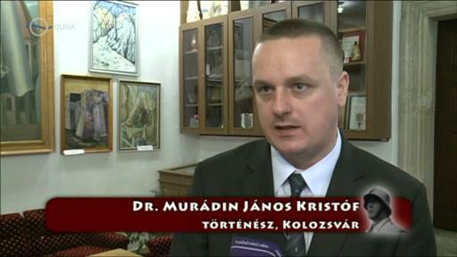 Dr. Murádin János Kristóf, történész, Kolozsvár