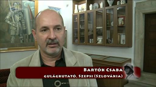 Bartók Csaba, Gulag-kutató, Szepsi, Szlovákia