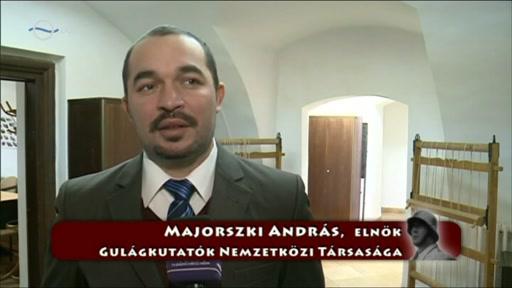 Majorszki András, elnök, Gulágkutatók Nemzetközi Társasága