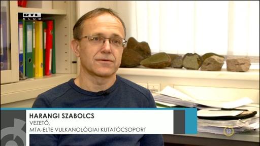 Harangi Szabolcs, vezető, MTA-ELTE Vulkanológiai Kutatócsoport
