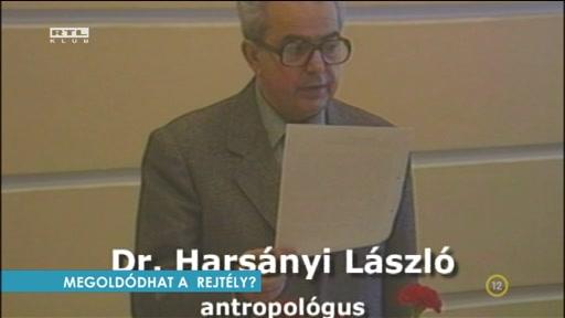 dr. Harsányi László, antropológus